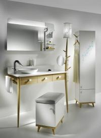 Un meuble de salle de bains 100% écolo