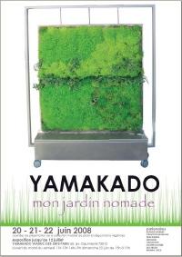 "Yamakado organise l'exposition ""Mon jardin nomade"" du 20 juin au 12 juillet"