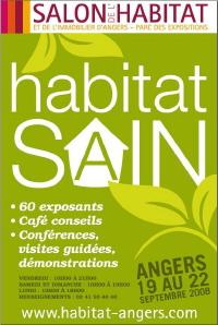 """Les dernières tendances """"Habitat"""" au Salon d'Angers du 19 au 22 septembre"""