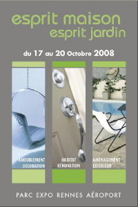 """Le Salon """"Esprit Maison – Esprit Jardin"""" de Rennes ouvre ses portes vendredi"""