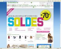 100.000 commandes sur Laredoute.fr le premier jour des soldes