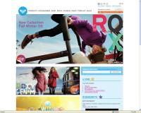 Le site Internet de Roxy se met aux ventes en ligne : le courrier de la mode