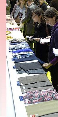 """Des innovations et des textiles écologiques au salon """"Tissu Premier"""""""