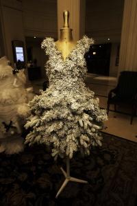 Des sapins décorés par des étudiants en école de mode exposés àpartir du 28 novembre