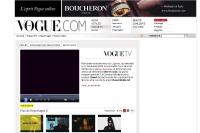 Plus de contenus pour le site Internet Vogue.com