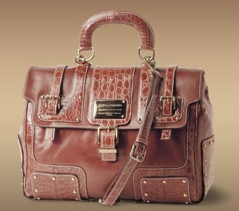 Le cartable en cuir Dolce et Gabbana