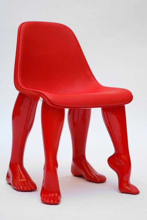 Galerie Emmanuel Perrotin chaise Pharell Williams