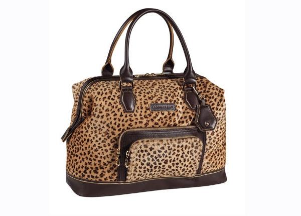 Modèle Longchamp Legende Luxe, imprimé léopard