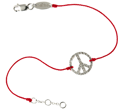 LE bracelet Peace and Love de Redline