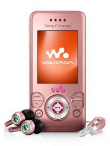 Sony Ericsson W580i Metro Pink - Sony Ericsson