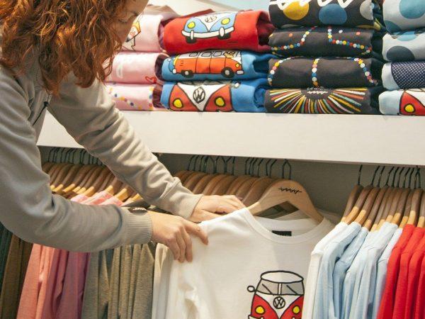 Choisir l'impression sur un t-shirt